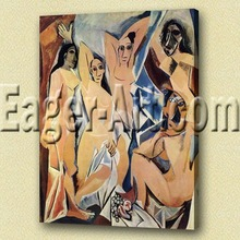 Fine art abstract painting picasso