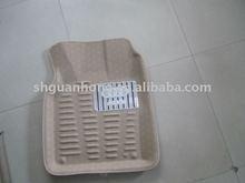 Leather Car Floor Mat with Happy-Go-Lucky car logo car mats