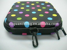 new pu leather CD case stylish eva pu leather CD case and hard waterproof eva pu leather CD case