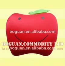 2012 fashion cute fruit shaped pillow/travel pillow