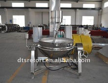 Electric heating conduction oil planetary mixer (manual)