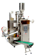 Hot sale factory price MK-T80 inner and outer tea bag with tags & thread , tea bag packing machine
