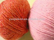 wool and acrylic blend yarn