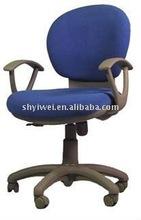 High back staff chair Fabric swivel chair Modern design chair