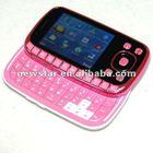 mini touch screen dual sim slide TV mobile phone