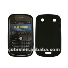 Silicone GEL Skin Case cover for Black Berry 9900 mobile phone
