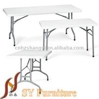 72'' aluminium folding wedding table for dining