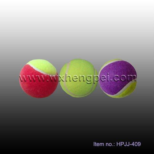 pelota de tenis estudiante suave pelota de tenis de diferente tamaño de pelota de tenis personalizado logotipo de la bola