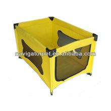 Foldable Pet Home Dog bed dog playpen with steel frame