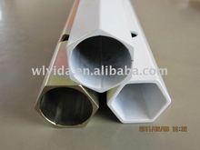 hexagon steel pipe, hexagonal pipe, hexagonal pipe holder