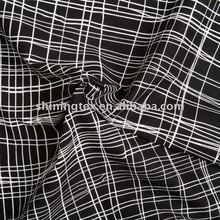 check cotton poplin fabric