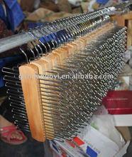 Cheapest hanger/Wooden Tie/scarf/belt rack (Hot selling item)