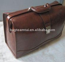 Lady doctor bag 2013 Vintage Genuine leather hand bag