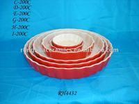 Chaozhou Ronghua Ceramics Round Pie Plate