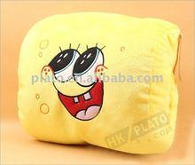 2012 Sponge Bob Comfortable Plush Pillow For car