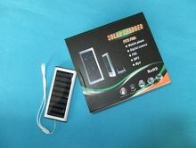 Ultra Thin Solar Powered Backup Battery and Charger for Cell Phones, iPhone, iPod, and Most USB Powered-- Premium Solar Battery