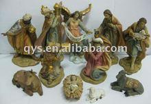 Religious polyresin figurine