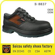 chaussures de sûreté en acier d'orteil de fabricant en Corée (SC-8837)