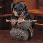 polyresin dog figurine