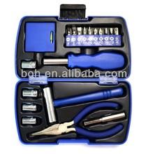 20pcs Mini hand tool box household tool set