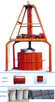 Hongfa concrete pipe making machine small diameters cement pipe forming machine