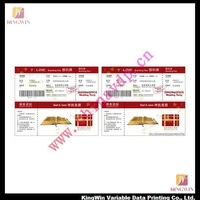 Domestic and International plane Tickets printing service(boat tickets)