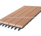 WPC DIY outdoor decking tile