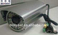 """all in one ip network camera,1/3"""" CMOS IR waterproof camera"""