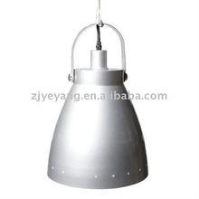 silver metal celing lights