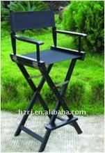 wooden garden director chair