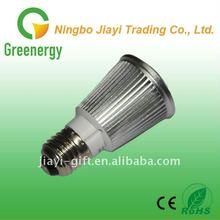 5x1w Convex Acrylic/Flat glass Led RGB Bulb