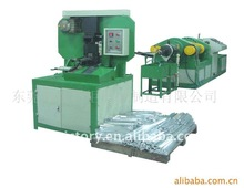Solder bar casting and stamping machine