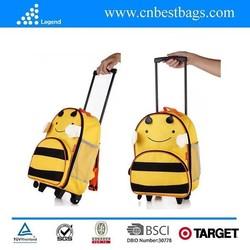 China alibaba golden supplier kids trolley school bag