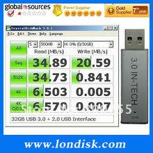 USB flash memory 3.0 stick 16GB/32GB/64GB