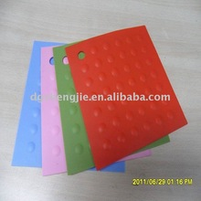Press high tempreture resistance silicone anti-slip pad