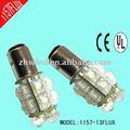 Llevada Auto del bulbo 1156 1157 3157 3156 base y 3 mm led. Luz de la cola, La luz de intermitencia, Luz de freno