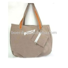 RPET newly designed brown handbag/shopping bag with coin purse