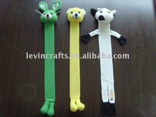 LE-PBM003 Attractive & Useful Plush Animal Bookmark