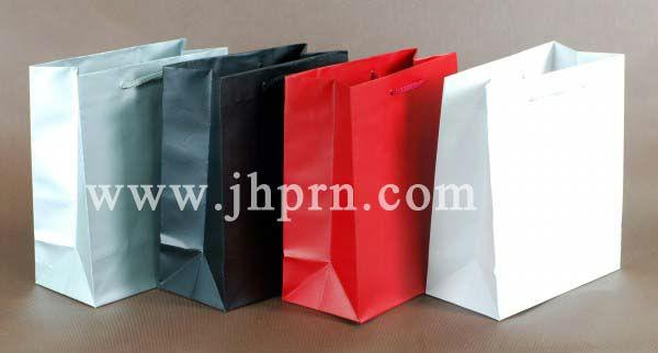cheap solid color promotional paper bag