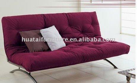 Fut n rojo sof sof s para la sala de estar for Futon cama precio