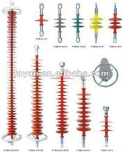 Electrical suspension insulators