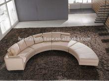 Round Corner Sofa/ Bedroom Furniture