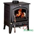 chimenea de hierro fundido resistente al calor