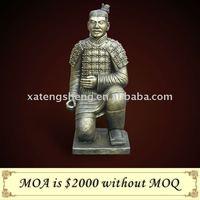 Kneeling Archer of Terra Cotta Warriors Sculpture