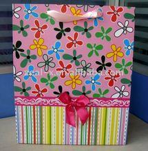 Christmas Art Paper pattern carrier Bags