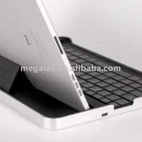 Tablet case cover Aluminum Bluetooth keyboard case for ipad 2 3 4