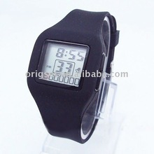 2012 HOT promotional silicone wrist watch