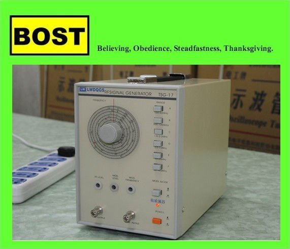 TSG-17 High Frequency Signal Generator(LW)
