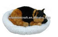 Pet Dog Plush toy Sleeping dog Breathing dog
