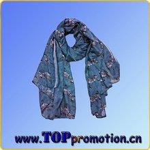 2013 hot-selling silk chiffon scarf
